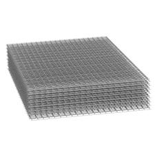 Сетка сварная 10х10х1 оцинкованная (рулон 1х15 м)